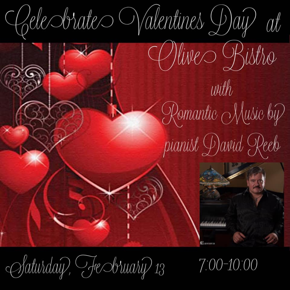 olive bistro love songs by david reeb
